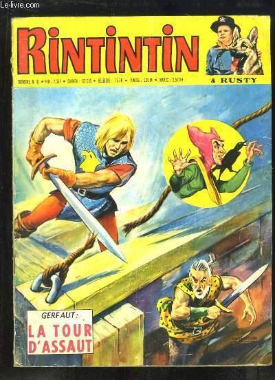 Rintintin et Rusty N°31 : Gerfaut, La tour d'Assaut - Alerte aux Yanktons ...