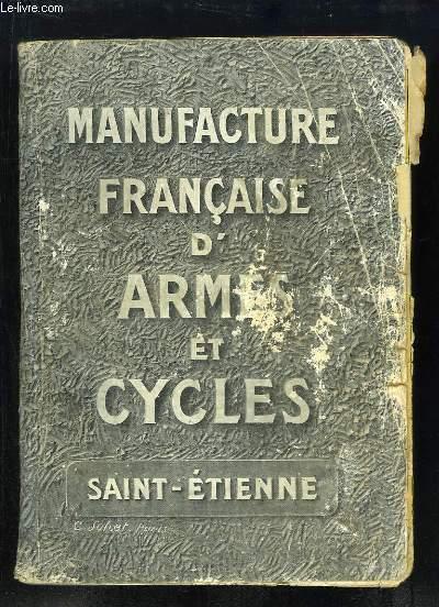 Catalogue Manufrance - Le Catalogue des Loisirs, du Bricolage pour la Famille et la Maison.