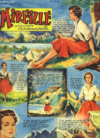 Mireille, le magazine de Mademoiselle. N°248 : Les Pardons Bretons - Marcel MARCEAU (avec une DEDICACE)
