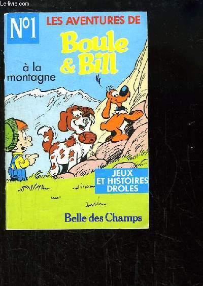 Les aventures de Boule & Bill N°1 : A la montagne