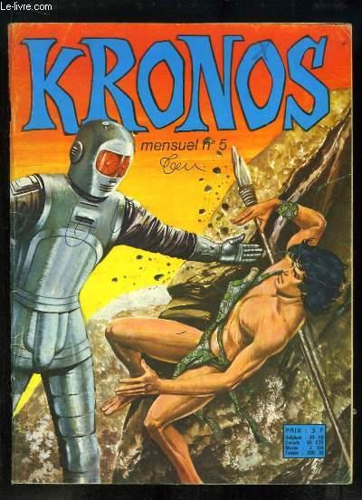 Kronos N°5 : Le Géant sans Visage