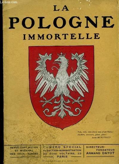 La Pologne Immortelle. Revue d'Art Ancien et Moderne des Deux Mondes