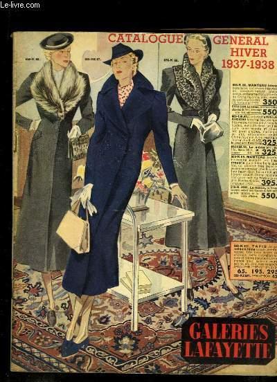 Catalogue Général Hiver 1937 - 1938