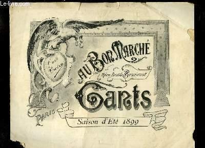 Catalogue de Gants