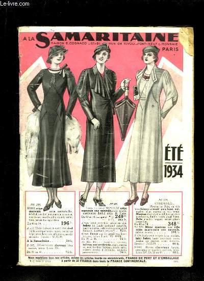 Catalogue Eté 1934 des Magasins