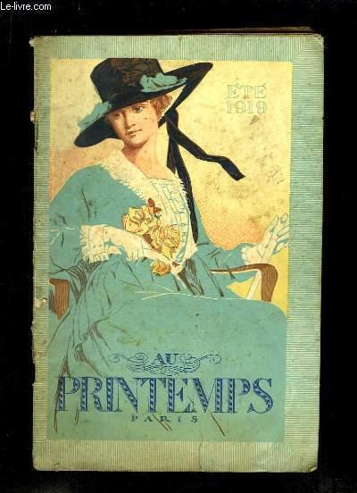 Catalogue Eté 1919 des magasins