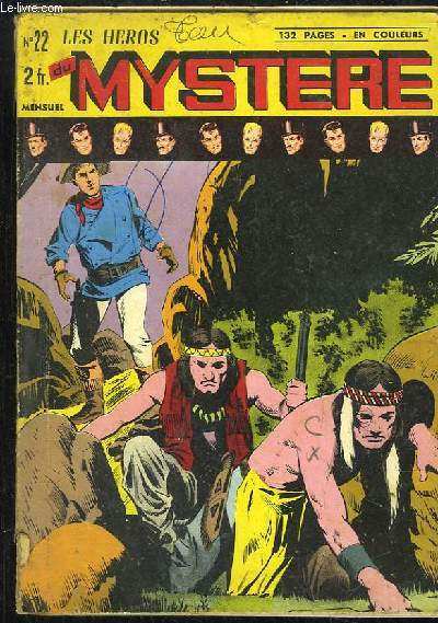 Les Héros du Mystère N°22
