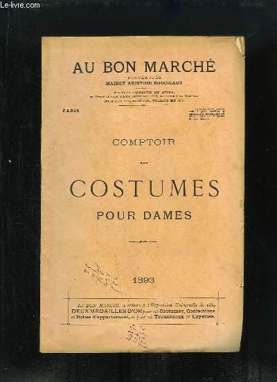 Comptoir des Costumes pour Dames - 1893