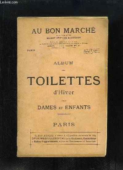 Album des Toilettes d'Hiver pour Dames et Enfants.