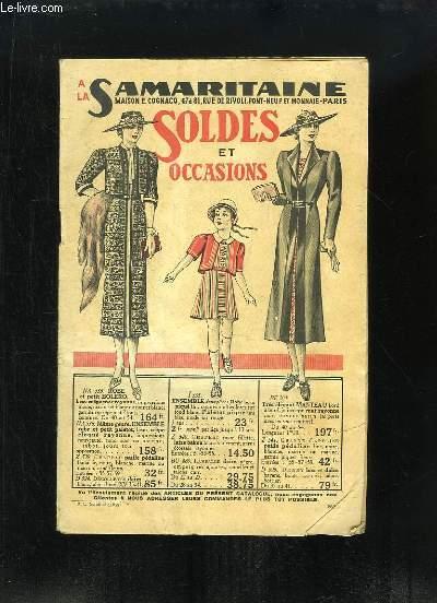 Catalogue de Soldes et Occasions à