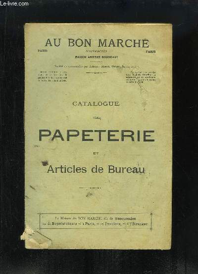 Catalogue de Papèterie et Articles de Bureau