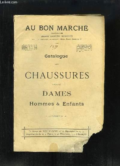 Catalogue 1899 des Chaussures pour Dames, Hommes & Enfants