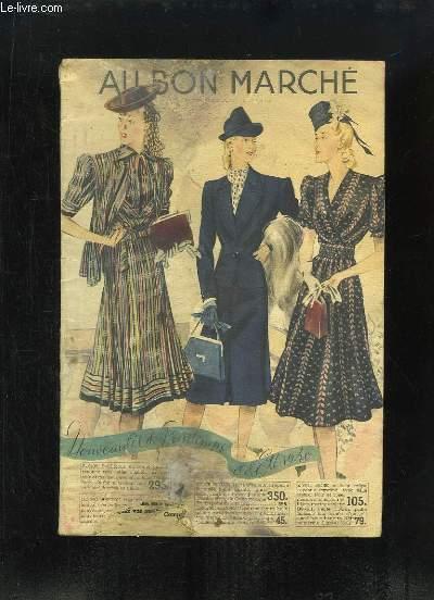 Catalogue des Nouveautés de Printemps et d'Eté 1940