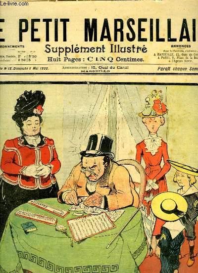 Le Petit Marseillais, supplément illustré N°18 - 3ème année : En route pour l'Exposition, par O'GALOP - Amour, Amour ... par O'GALOP ...