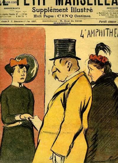 Le Petit Marseillais, supplément illustré N°7 - 4ème année : L'Ouvreuses, par HERMANN PAUL - Première Culotte, par WEILUC ...
