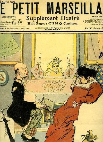 Le Petit Marseillais, supplément illustré N°13 - 4ème année : Félicité, par GERBAULT - Le Farceur Puni