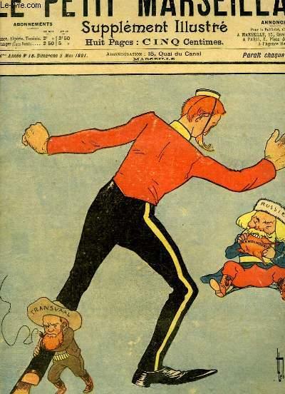 Le Petit Marseillais, supplément illustré N°18 - 4ème année : Le Supplice de Tantale, par LEBEGUE - Le Remède Impromptu, par LEBEGUE