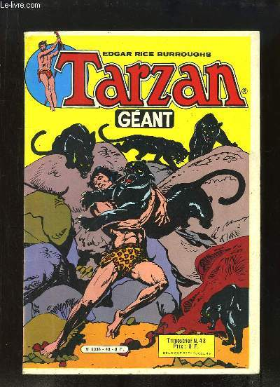 Tarzan Géant N°48 : La fin du