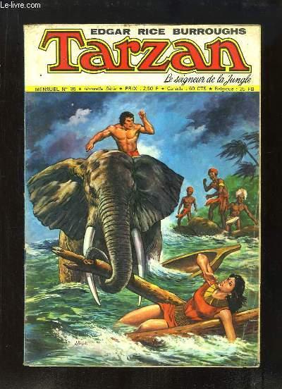 Tarzan, le seigneur de la Jungle N°35, Nouvelle Série : La Jungle en flammes -