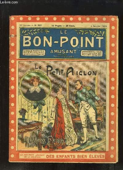 Le Bon-Point amusant N°527 - 12ème année : Le Petit Aiglon, par Louis FARGE