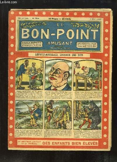 Le Bon-Point amusant N°544 - 12ème année : Lepetit-Poussain, Coureur des bois