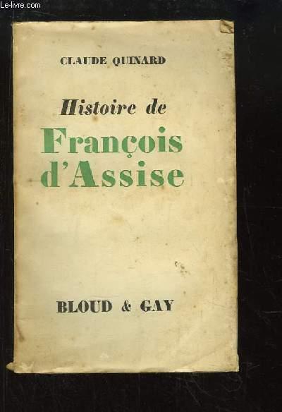 Histoire de François d'Assise.