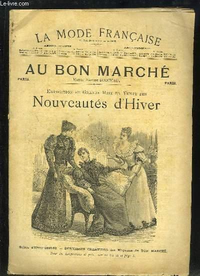 Exposition et Grande Mise en Vente des Nouveautés d'Hiver. Saison d'hiver 1892 - 1893