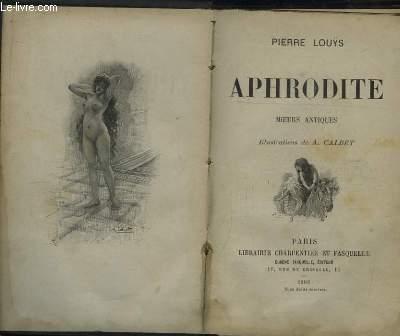 Aphrodite. Moeurs Antiques.