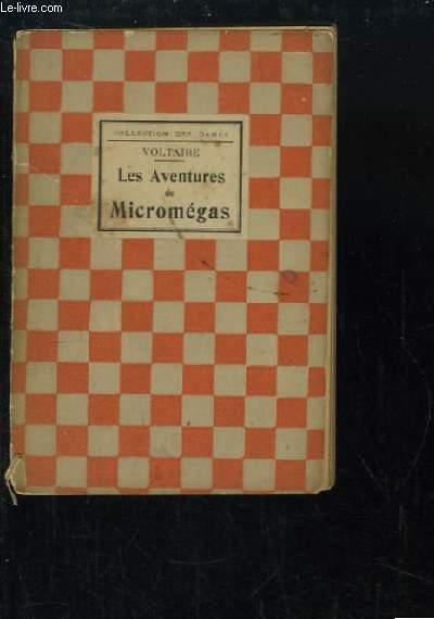 Les Aventures de Micromégas. Histoire des Voyages de Scartamento