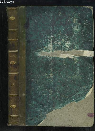 Oeuvres de Chateaubriand, TOME 14 : Le Paradis perdu