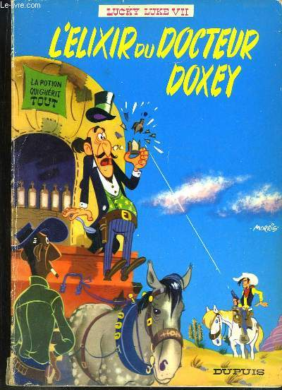 Lucky Luke n°VII : L'Elixir du Docteur Doxey