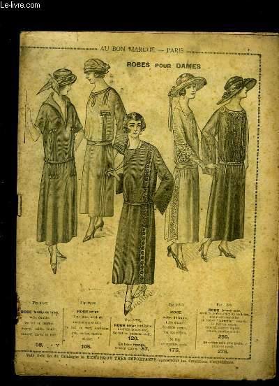 Catalogue de vêtements, costumes, lingeries.... des Magasins