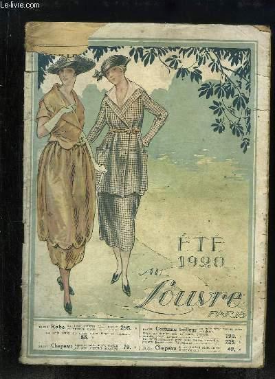 Catalogue de Vêtements de l'Eté 1920, des Magasins