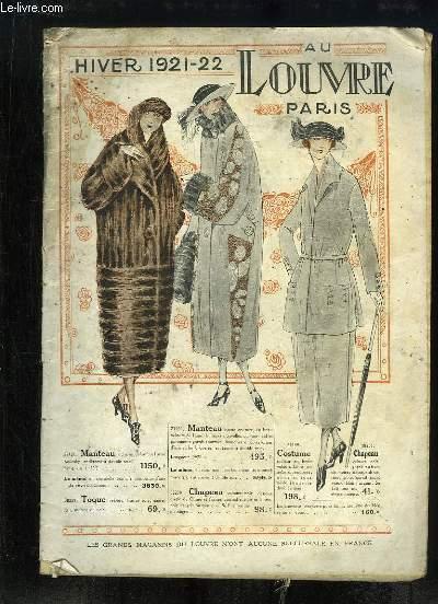Catalogue de Vêtements et Costumes, de l'Hiver 1921 - 22, des Magasins