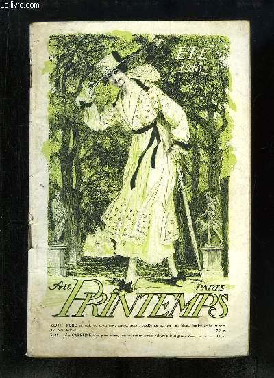 Catalogue de Vêtements de l'Eté 1918, des Magasins