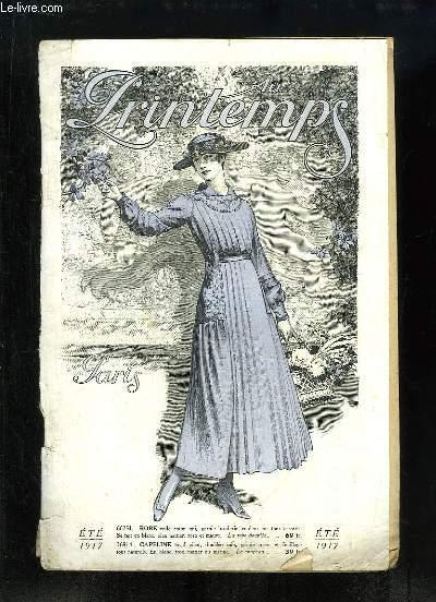 Catalogue de Vêtements de l'Eté 1917, des Magasins