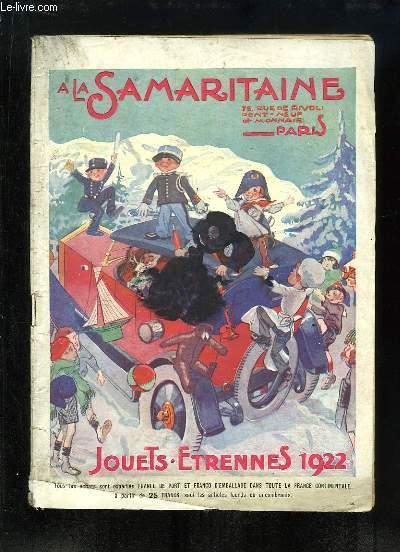 Catalogue de Jouets - Etrennes 1922, de La Samaritaine.
