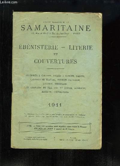 Catalogue d'Ebénisterie, de Literie et de Couvertures - 1911
