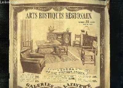 Catalogue d'Arts Rustiques Régionaux