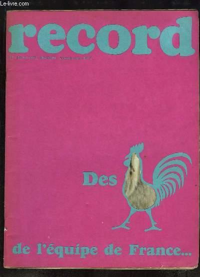 Record N°2 - Nouvelle série : J.N. AUGERT - Le Bangla-Desh - l'Alabanie mise sur les Jeunes - l'Hovercraft, un poisson volant - Brassens et Bécaud, 2 anciens plein de jeunesse - L'Aiguilleur du Ciel ...