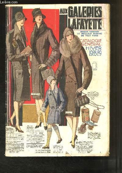 Catalogue Général Hiver 1928 - 29