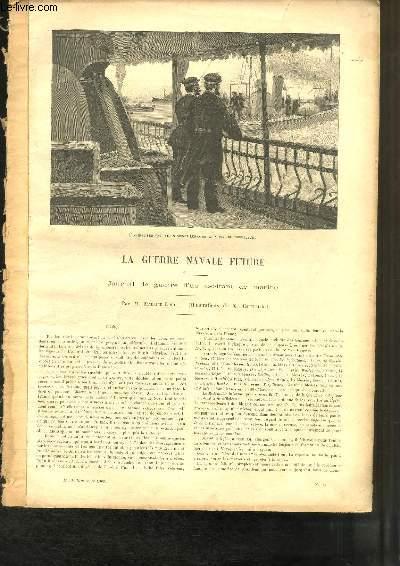 La Guerre Navale Future, journal de guerre d'un aspirant de marine. Extrait de