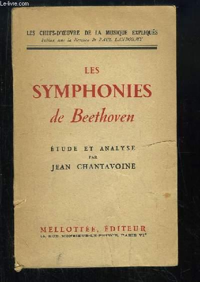 Les Symphonies de Beethoven. Etude et analyse.