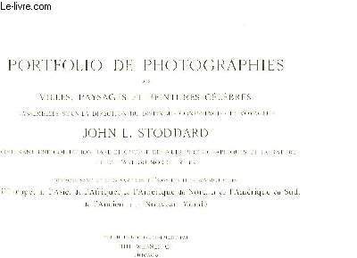 Portfolio de Photographies des villes, paysages et peintures célèbres.