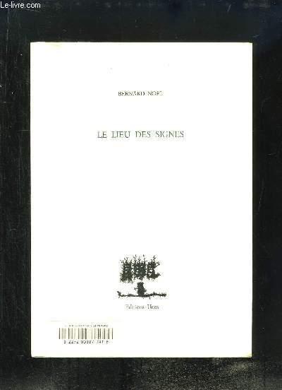 Le Lieu des Signes.