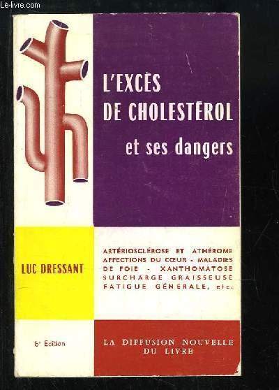 L'excès de cholestérol et ses dangers.