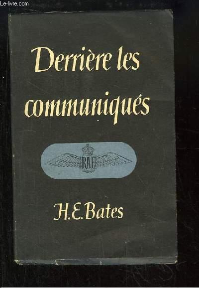 Derrière les Communiqués. Recueil de Contes.