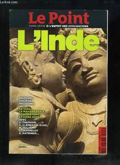 Le Point Hors-Série N°3 : L'Inde - COLLECTIF - 2008