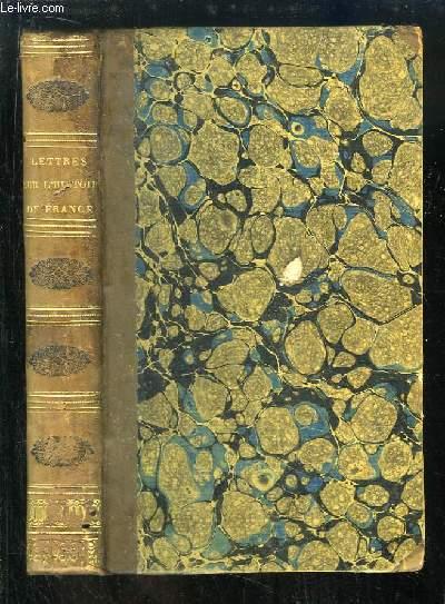 Lettres sur l'Histoire de France. Pour servir d'introduction à l'étude de cette histoire.
