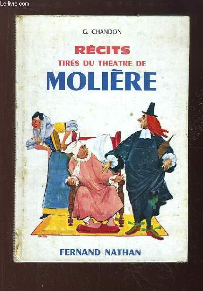 Récits tirés du Théâtre de Molière